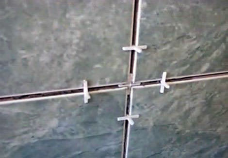 Расположение крестиков